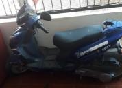 Se vende moto sigma color azul