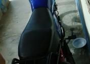 Se vende moto sigma con todo al dia color azul