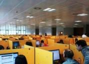 Call center soporte tecnico 6 horas diarias