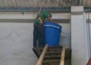 Desinfección de tanques de agua potable.