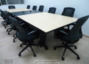 Mesas de juntas, mobiliario oficina