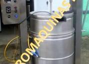 Marmitas dosificador empacadoras al vacío sellador