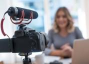 Video edición, filmación, soluciones