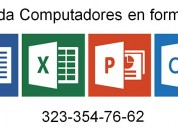 Aprenda computadores a domicilio