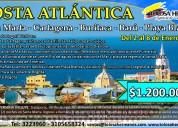Costa atlántica del 2 al 8 de enero