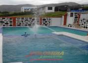 Cc948  casa con piscina para 30 personas .