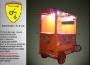 Triciclo para venta comidas rapidas