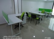 Escritorios, call center, muebles oficina