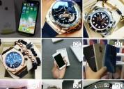 Venta de celulares y relojes