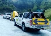 Buscamos camionetas 4x4 doble cabina con platón