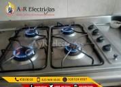 Arreglo de estufas a gas y electrigas 4580869