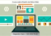 Curso sobre diseño de sitios web a domicilio