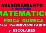 Elaboracion de examenes y trabajos de matematicas.