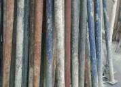 Parales metalicos usados o tacos metalicos