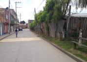 Se vende lote esquinero urbano en funza 1200 m2