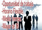 Vacantes de trabajo con flexibilidad de horarios
