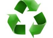Compro reciclaje a domicilio