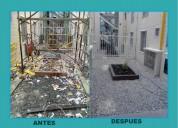 Control integral de plagas y lavado de tanques