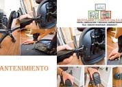 Mantenimiento preventivo sillas de oficina