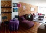 Apartamento en arriendo en bogota santa barbara usaquen 1 dormitorios 50 m2