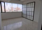 oficina en arriendo en barranquilla alto prado 90 m2