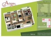 Apartamento en venta en duitama 3 dormitorios 74.43 m2