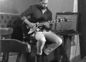 Clases personalizadas de guitarra electrica y acustica todos los niveles en medellín