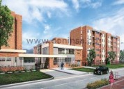 Venta de apartamento en mosquera 3 dormitorios 58 m2