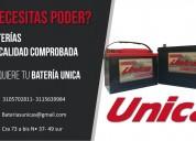 Baterias única - para carro