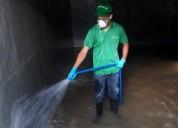 Limpieza de tanques de agua potable en santander