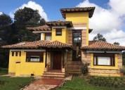 Casa campestre en venta en villa de leyva alto del espino 2 dormitorios 8000 m2