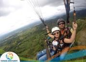 Quindío aventurero    vuelo en parapente