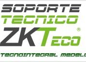 Soporte tecnico controles zkteco