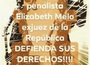 Abogada elizabeth melo exjuez penal accidentes de
