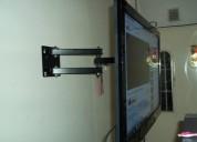 Instalacion tv soportes repisas bases economicas