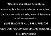 Cabinas de pintura para la industria colombiana