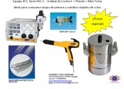 Equipo completo para la aplicación de pintura elec