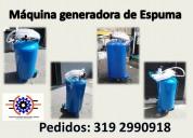 Espumadoras para el lavado de autos, motos, buses