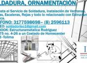 Montajes e instalaciones de estructuras metálicas.