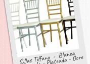 Mobiliario para decoración de eventos colombia