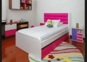Promoción cama cunas tapizadas en barranquilla