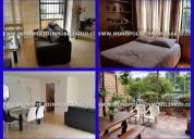 Apartamento amoblado para la renta en el poblado m