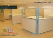 Divisiones y reubicaciones para oficinas