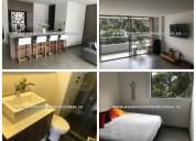 apartamento amoblado alquiler - poblado cod+*/-*: