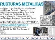 Mantenimiento y fabricación de trabajos metálicos.