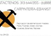 Carpintero carpintería ebanistería