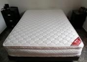 Colchón ajuste perfecto 140*190 + base cama spring
