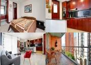 Alquiler apartamentos amoblados código 3032