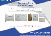 Carpetas para historia clinica y medica