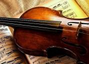 Clases personalizadas de violín y lenguaje musical